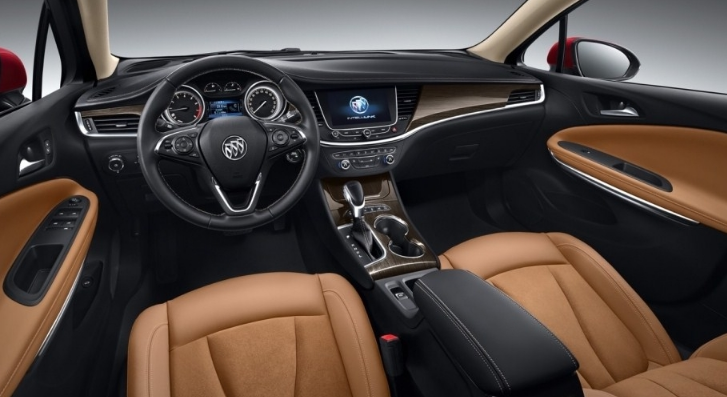 2021 Buick Regal Sportback Interior