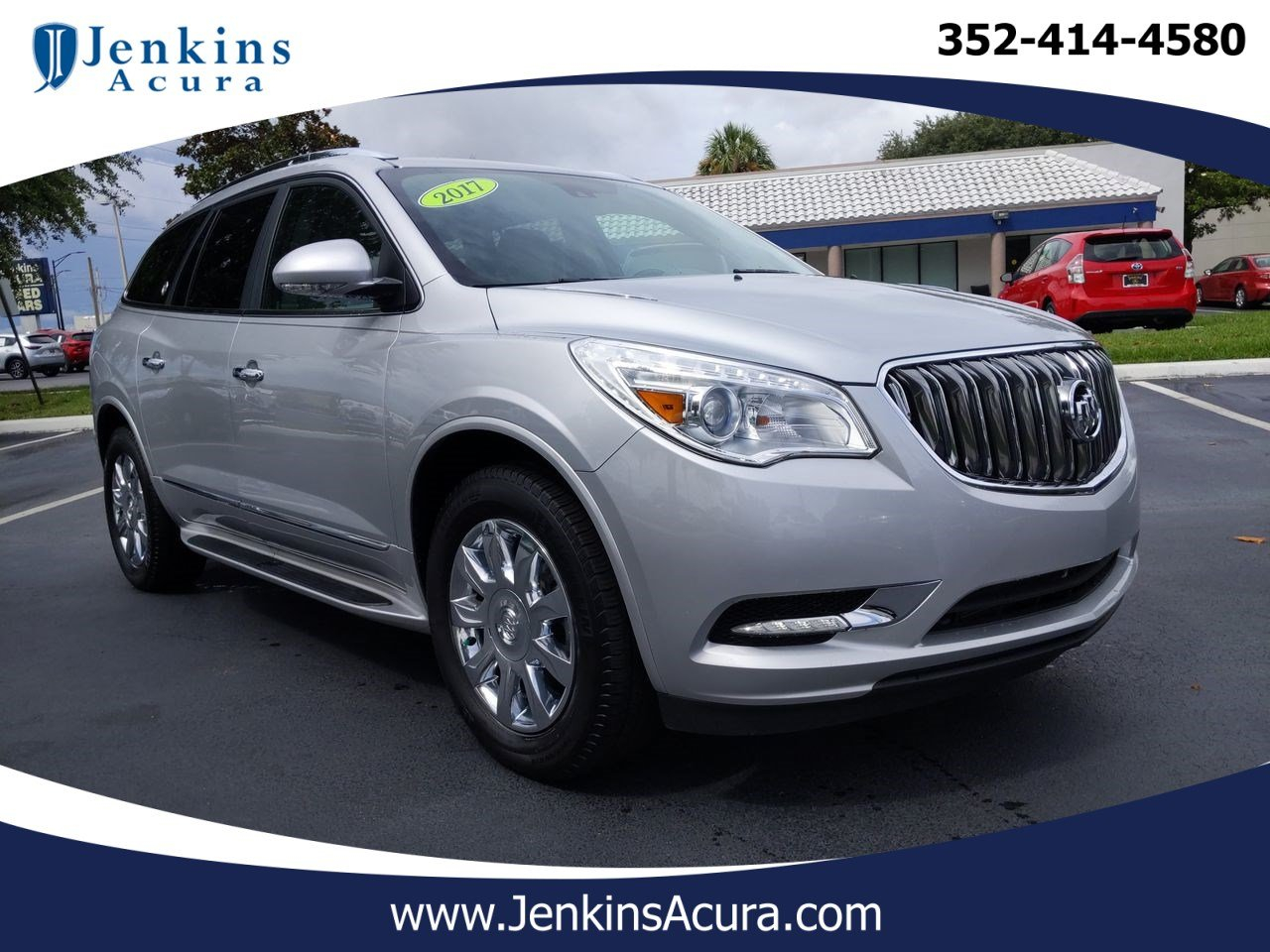 2017 Used Buick Enclave For Sale | Ocala Fl | A11375A 2021 Buick Enclave Interior Colors, Heads Up Display, Incentives