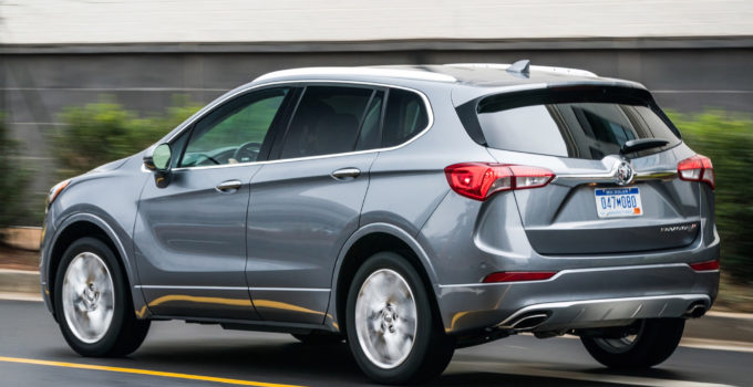 2022 buick envision length  2021 buick