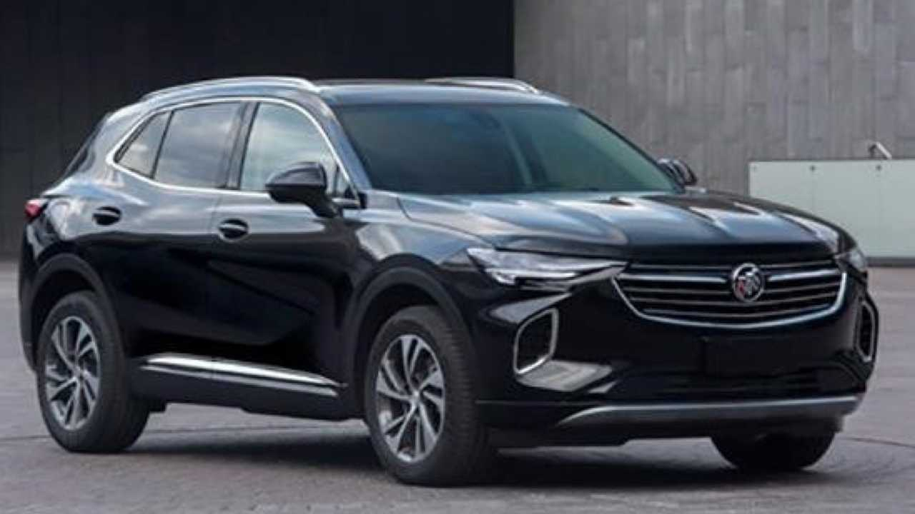 2020 Buick Envision S For China Gets An Early Reveal 2022 Buick Envision Mpg, Models, Manual