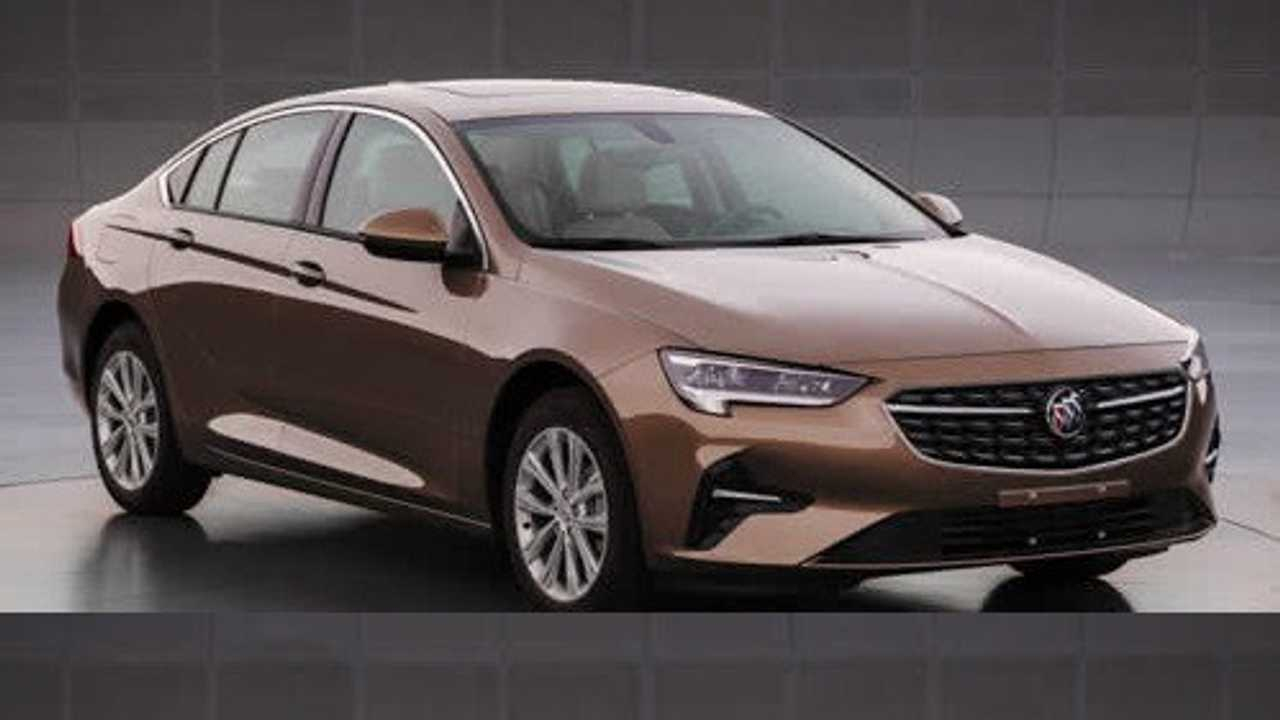 2020 Buick Regal Surfaces In China With Minor Facelift New 2021 Buick Regal Images, Price, Performance
