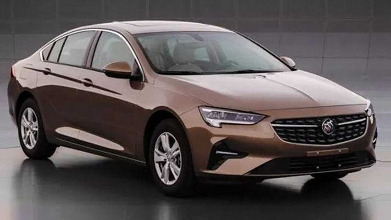 2020 Buick Regal Surfaces In China With Minor Facelift New 2021 Buick Regal Msrp, Models, Manual