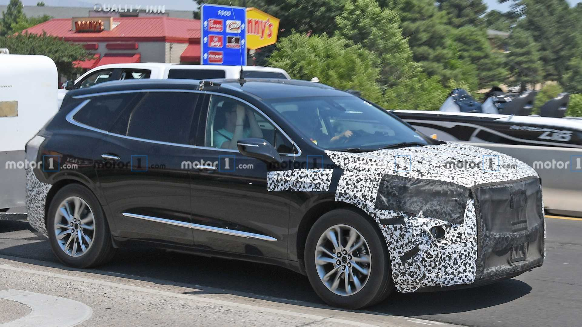 2021 Buick Enclave Spied For The First Time Build A 2022 Buick Enclave Avenir