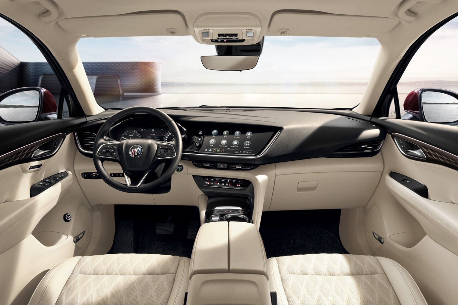 2021 Buick Envision Interior Revealed In Brand New Photos 2022 Buick Envision Interior Photos, Engine, Length
