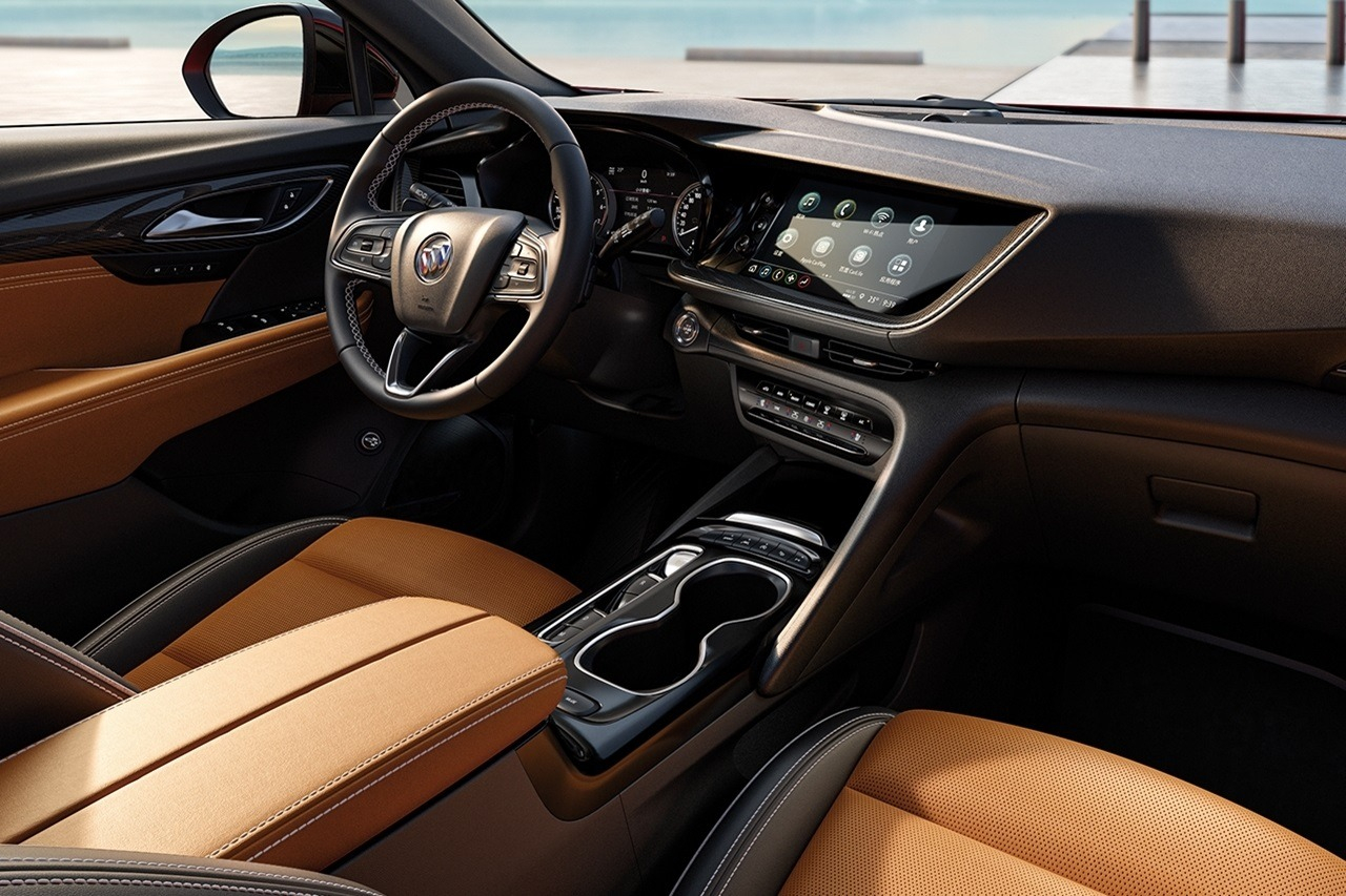 2021 Buick Envision Interior Revealed In Brand New Photos New 2022 Buick Riviera Engine, History, Dashboard