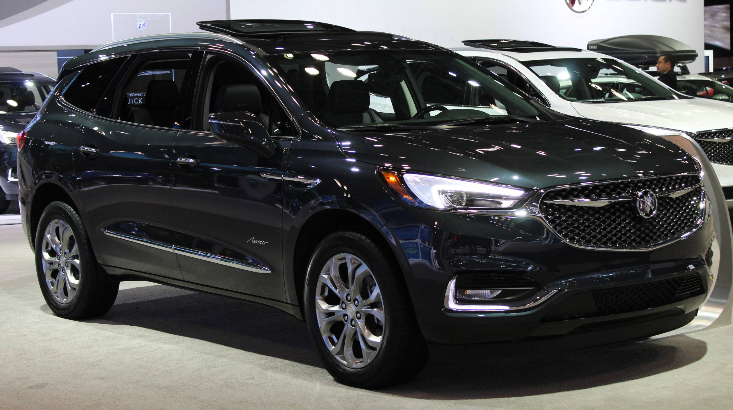 Buick Enclave - Wikipedia New 2022 Buick Enclave Fuel Economy, Fog Lights, Gas Mileage