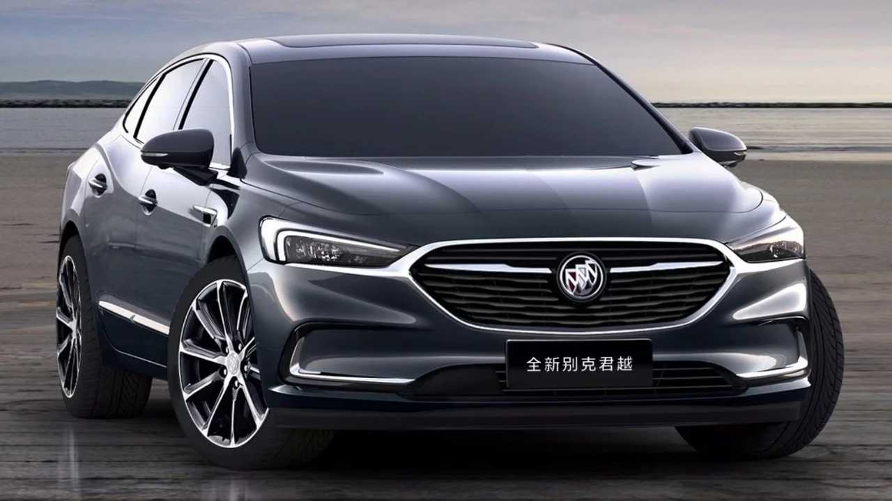 Buick Lacrosse Facelift Goes Official In China New 2021 Buick Lucerne Reliability, Wheels, Grill