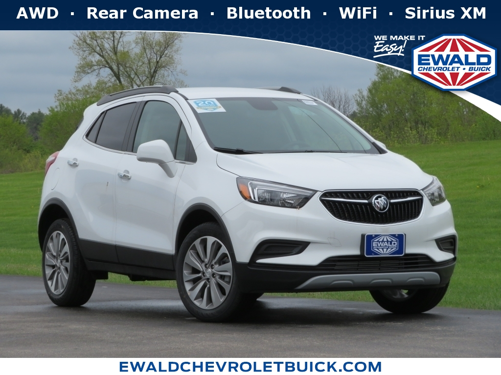 New White 2020 Buick Encore Stk# 20B34 | Ewald Chevrolet & Buick 2021 Buick Encore Lease, Price, Brochure