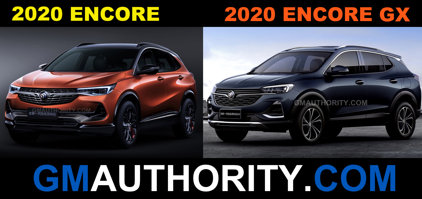 The New Buick Encore And Encore Gx: Dimensional Comparison Difference Between New 2022 Buick Encore And Encore Gx