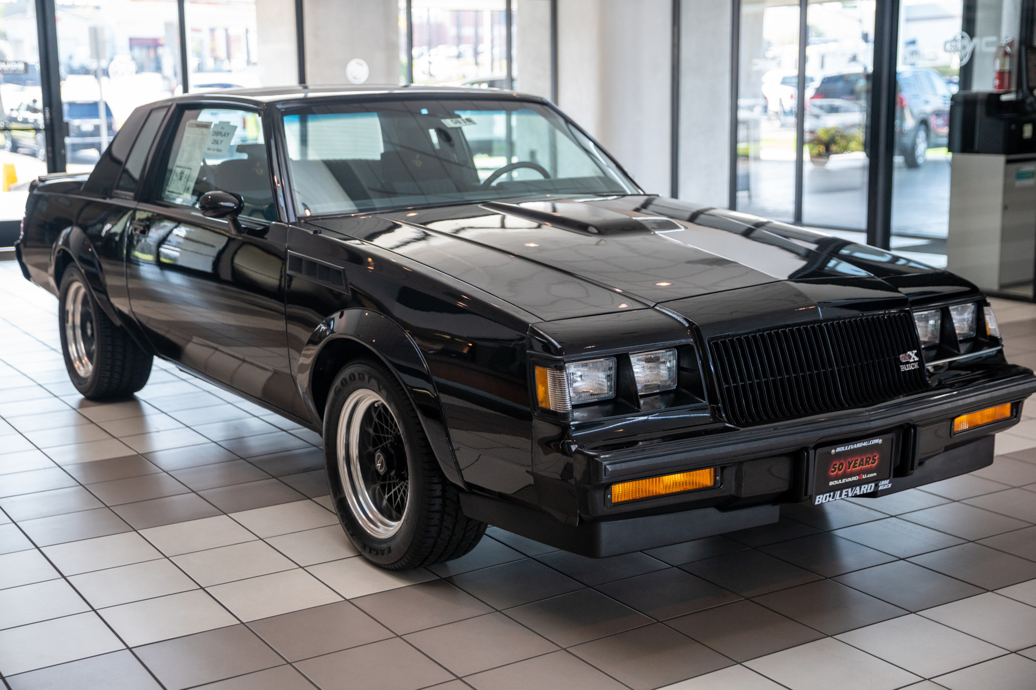 Unsold Buick Gnx With 202 Miles Now For Sale On Bring A Trailer 2022 Buick Regal Gas Mileage, News, Grand National Specs