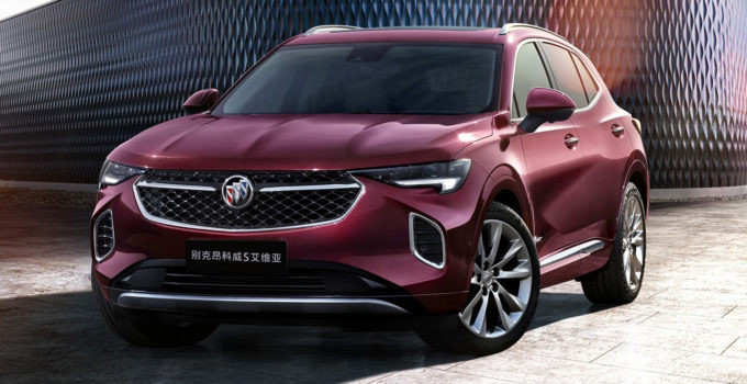 envision  2021 buick